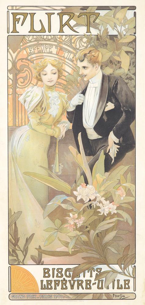 Flirt. 1900