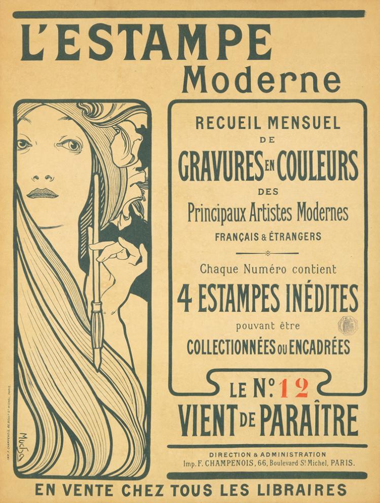 L'Estampe Moderne. 1898