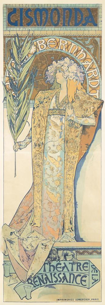 Gismonda / Théâtre de la Renaissance. 1894