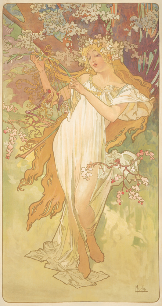 The Seasons / Spring. 1896