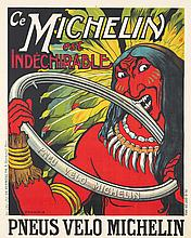 Michelin est Indechirable. 1908