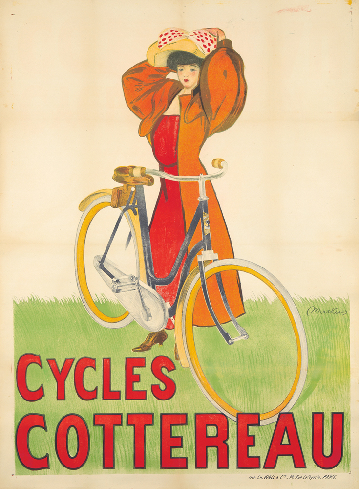 Cycles Cottereau. ca. 1900