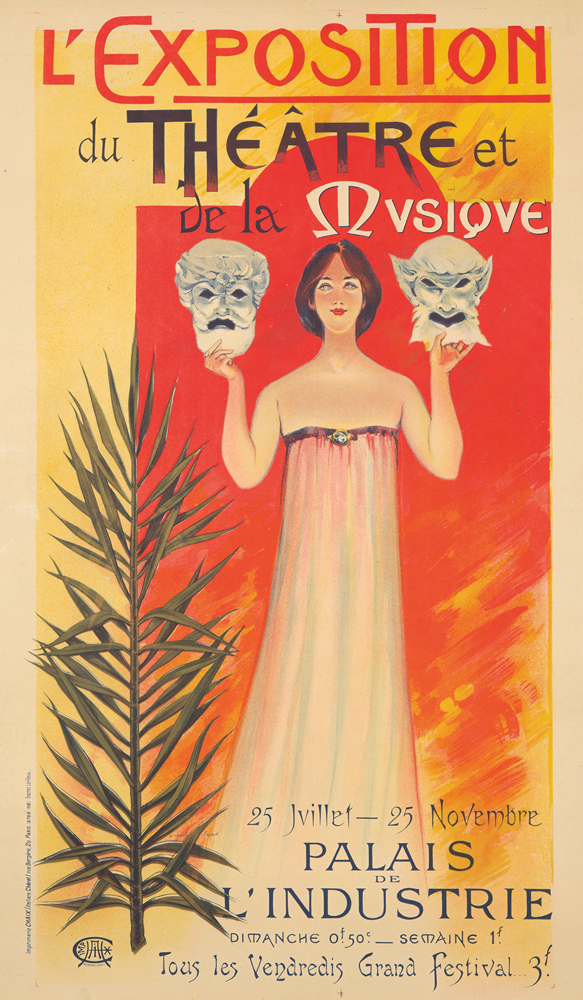 L'Exposition du Théâtre et Musique. 1896
