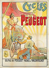Cycles Peugeot. ca. 1896