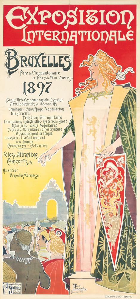 Exposition Internationale Bruxelles 1897. 1896