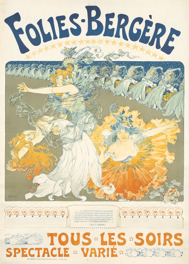 Folies-Bergère. 1900