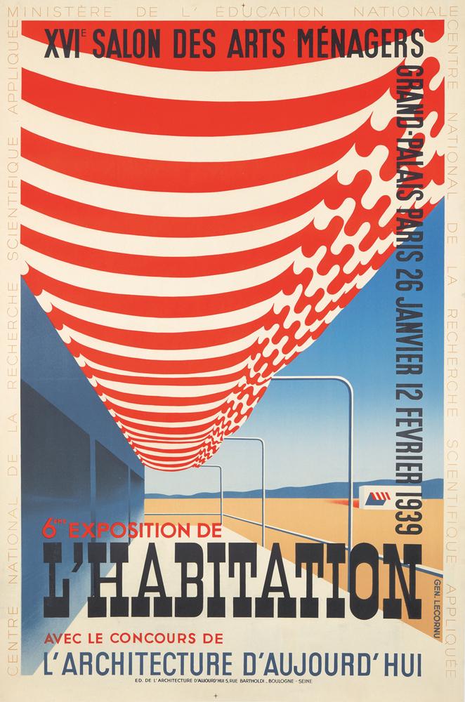 6eme Exposition de l'Habitation. 1938