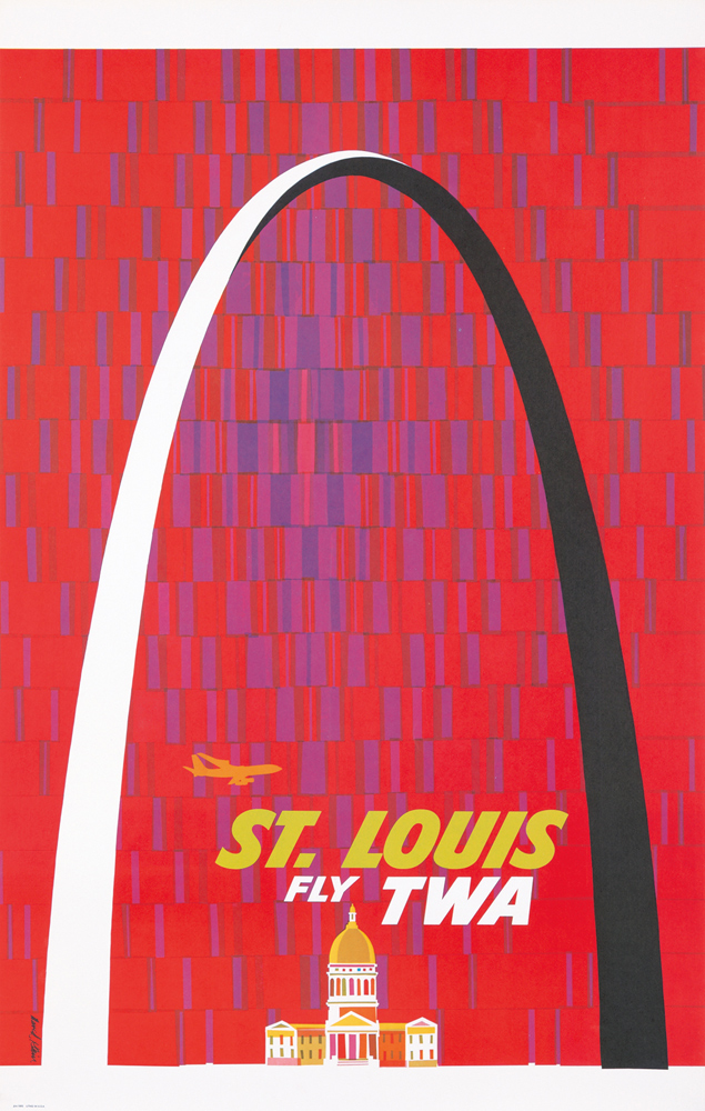TWA / St, Louis. ca. 1961