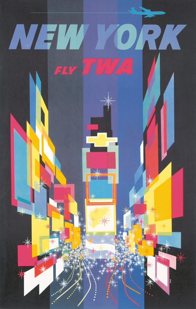 TWA / New York. 1956