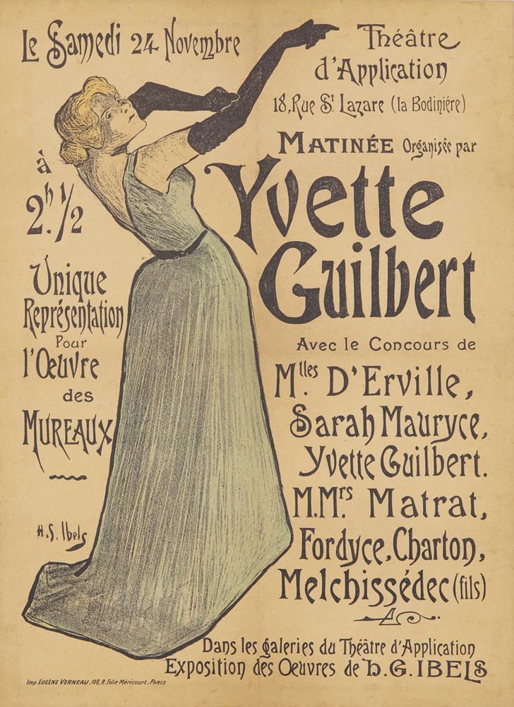 Yvette Guilbert. 1894