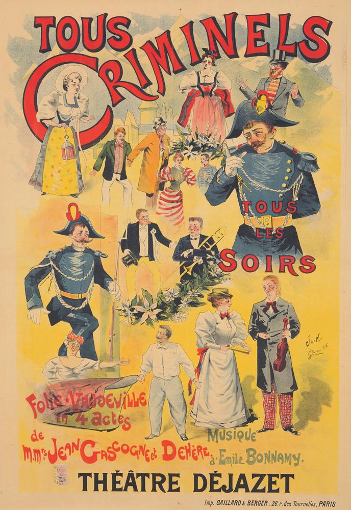 Tous Criminels. 1896