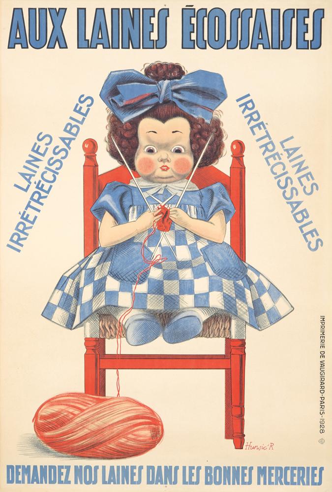 Aux Laines Écossaises. 1928