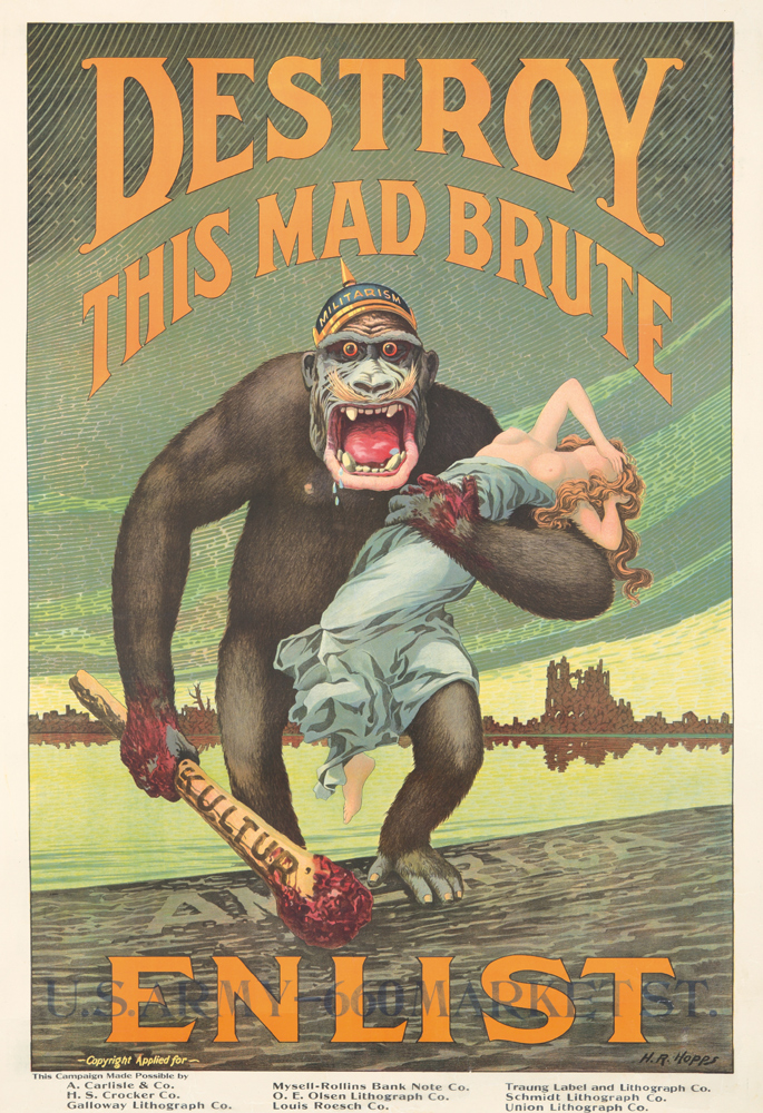 Destroy This Mad Brute. ca. 1917