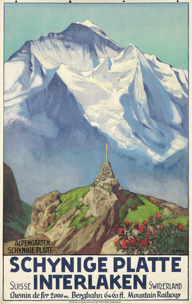 Schynige Platte / Interlaken. 1936