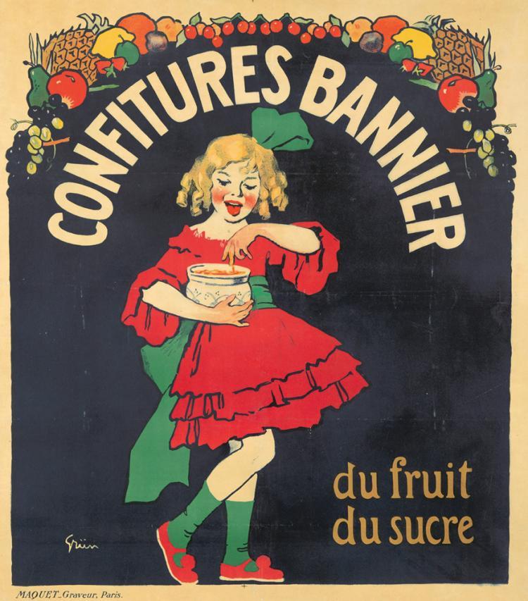 Confitures Bannier. 1910
