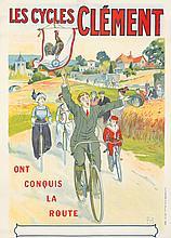 Les Cycles Clément. ca. 1900