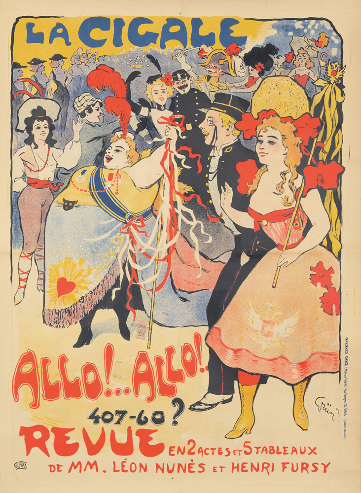 La Cigale / Allo! Allo! 1898