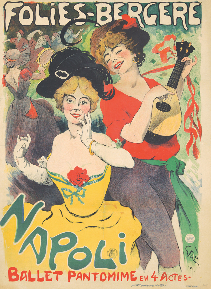 Folies-Bergère / Napoli. 1901
