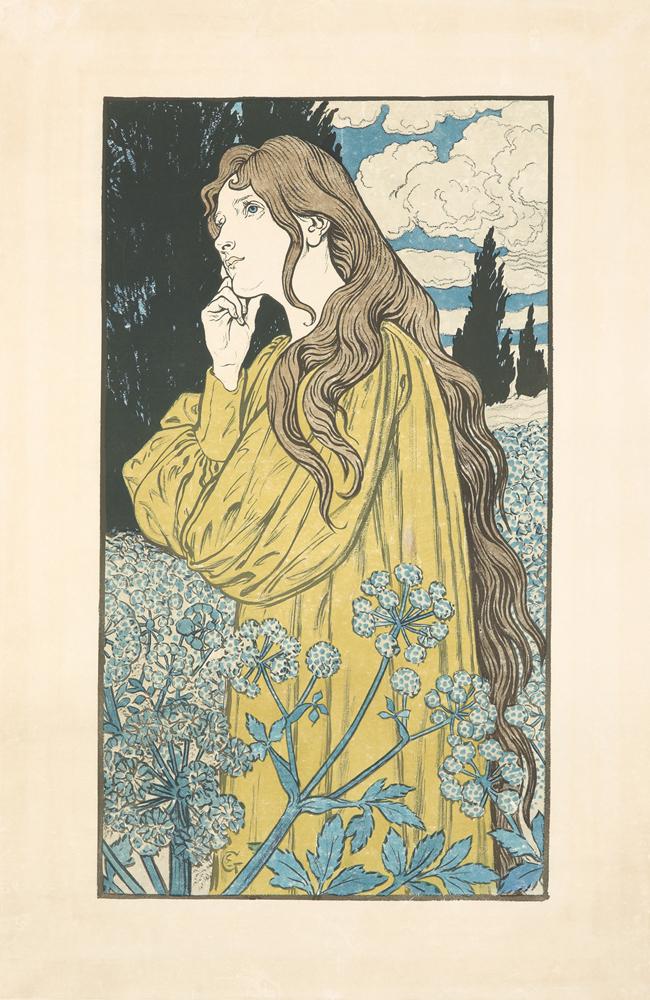 Meditation. 1897