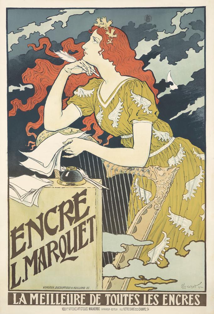 Encre L. Marquet. 1892