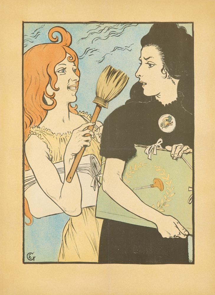 L'Estampe et L'Affiche. 1895