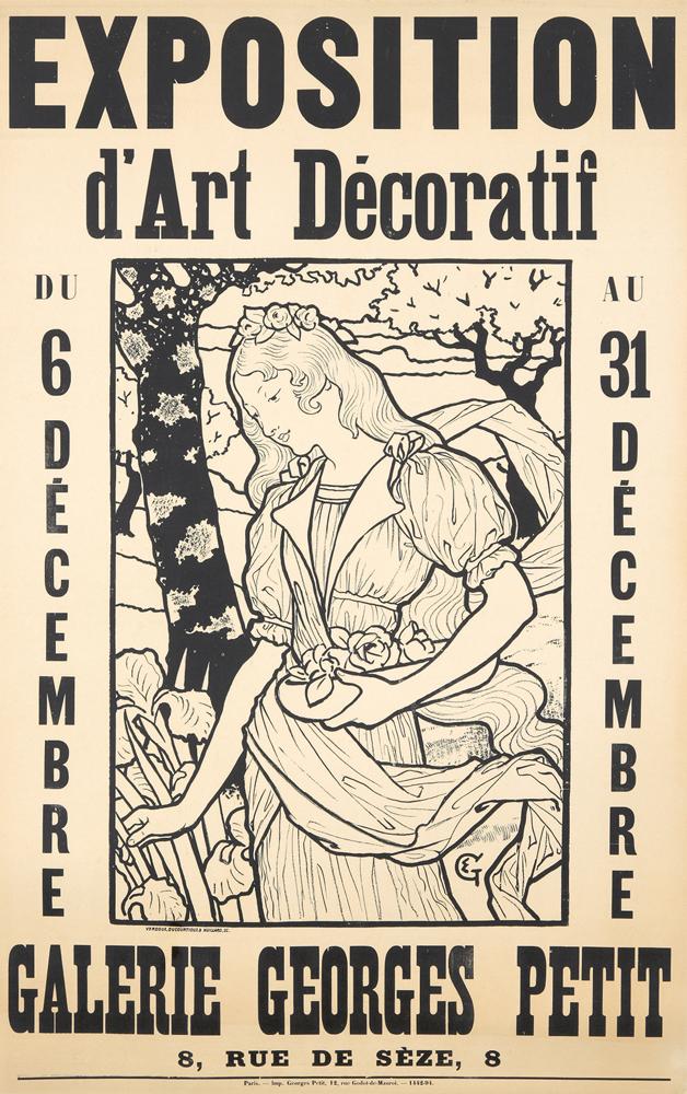 Exposition d'Art Décoratif / Galerie Georges Petit. ca. 1893