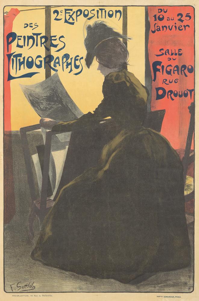 2e Exposition des Peintres Lithographes. 1898