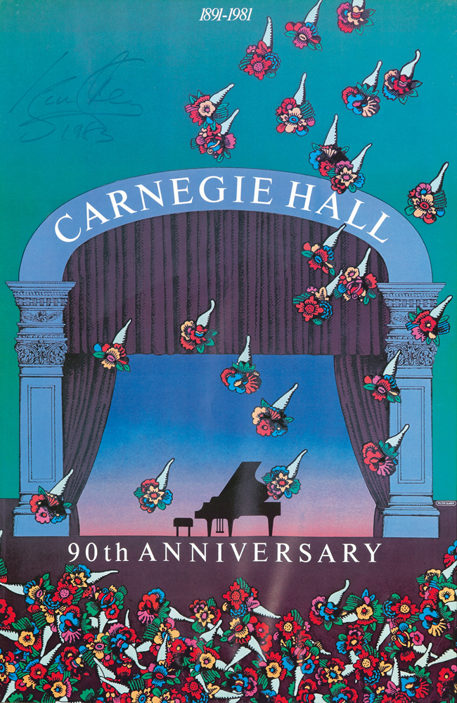 Carnegie Hall. 1981
