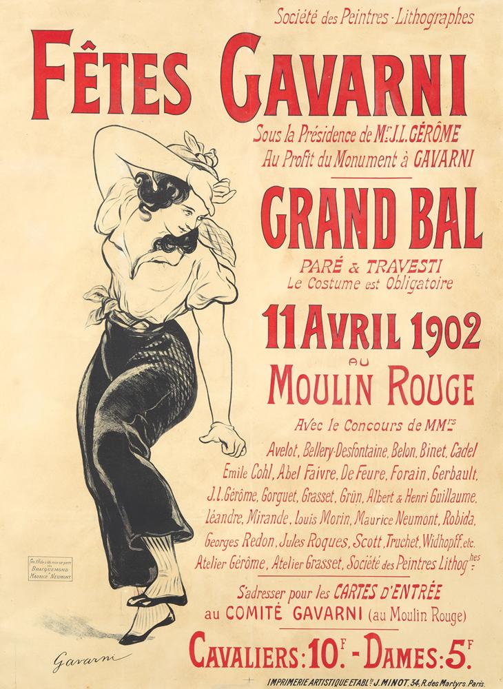 Fêtes Gavarni. 1902