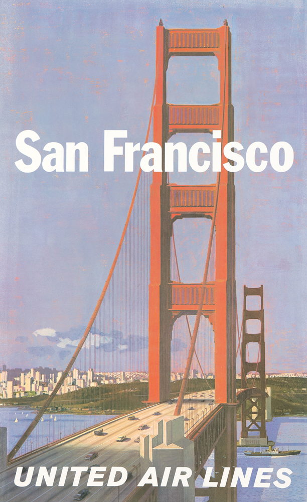 United Airlines / San Francisco. ca. 1960