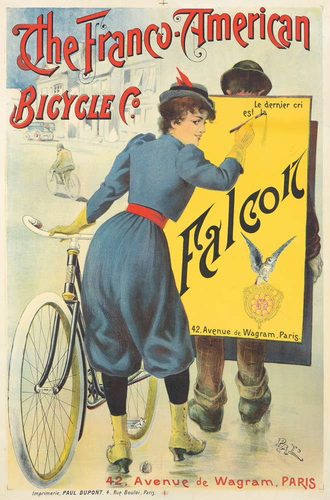 The Franco-American Bicycles Co. / Falcon. ca. 1893