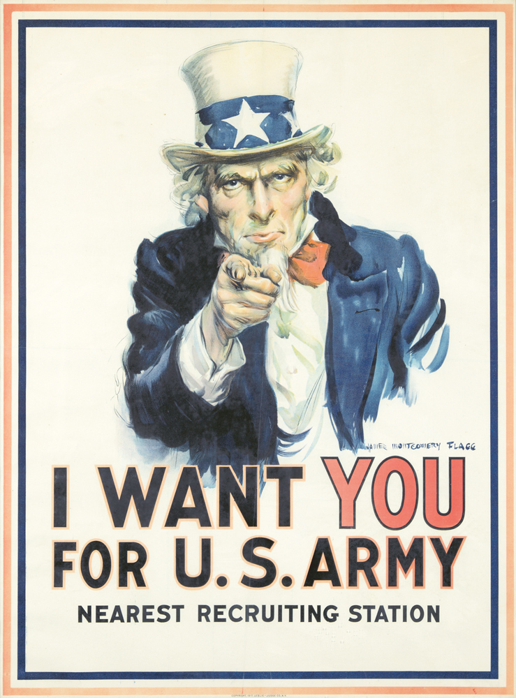 I Want You for U.S. Army. 1917