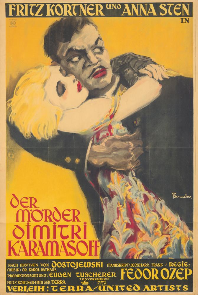 Der Mörder Dimitri Karamasoff. 1931