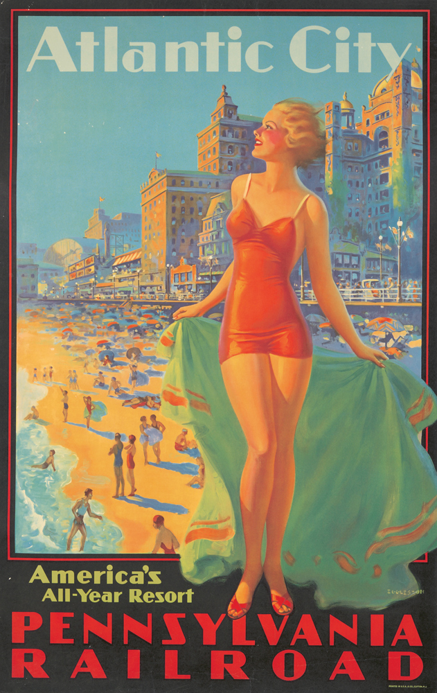 Pennsylvania Railroad / Atlantic City. ca. 1935