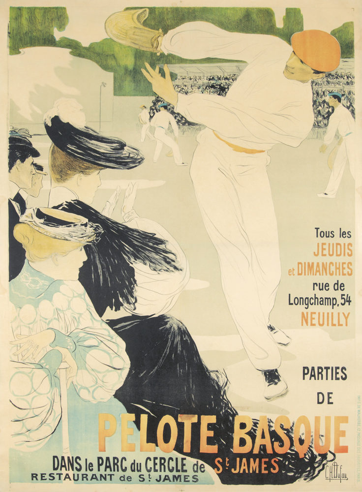Pelote Basque. ca. 1930