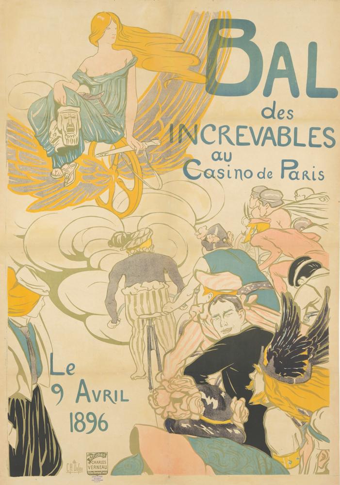 Bal des Increvables. 1896