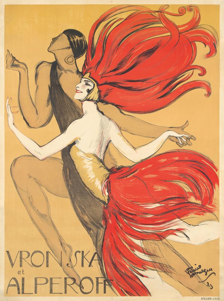 Vronska et Alperoff. 1923