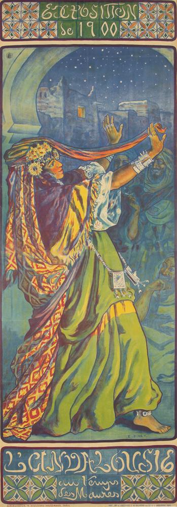 Exposition de 1900 / L'Andalousie. 1900
