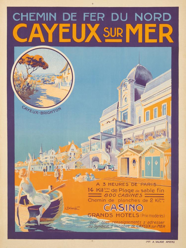 Cayeux sur Mer. ca. 1920