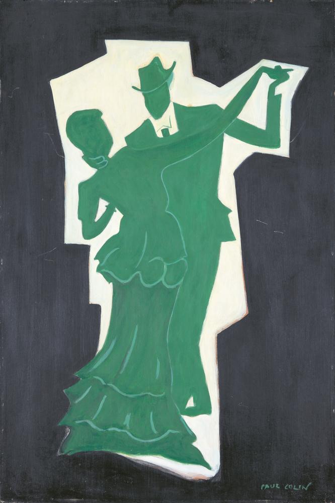 Bal Renoir / Moulin de la Galette. ca. 1956