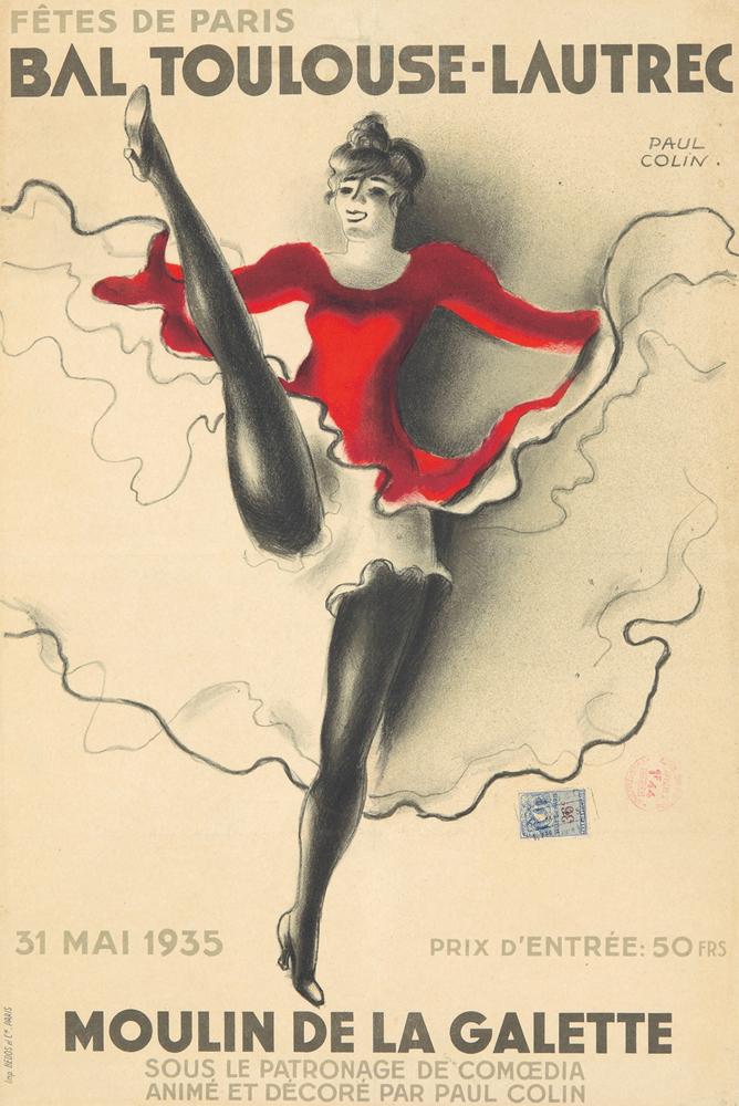 Bal Toulouse-Lautrec. 1935