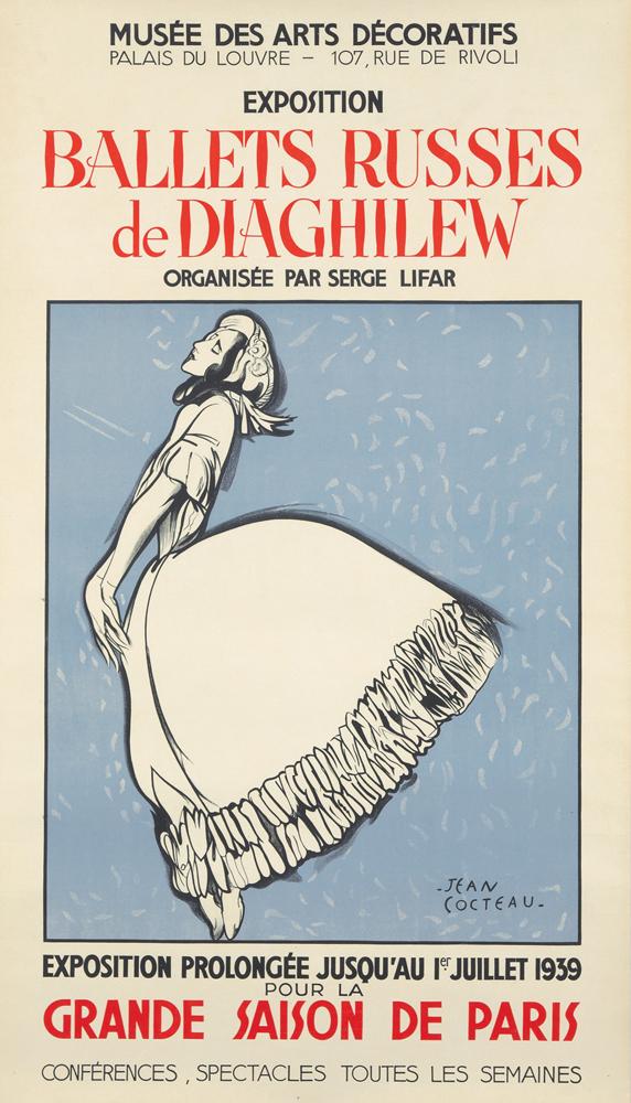 Ballets Russes de Diaghilew. 1939