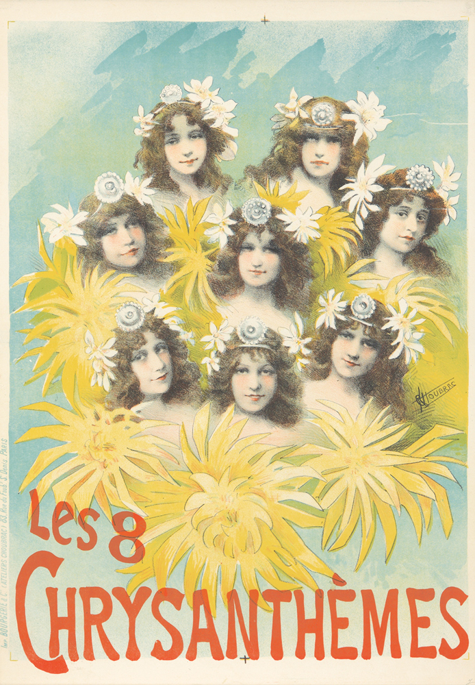 Les 8 Chrysanthèmes. ca. 1898
