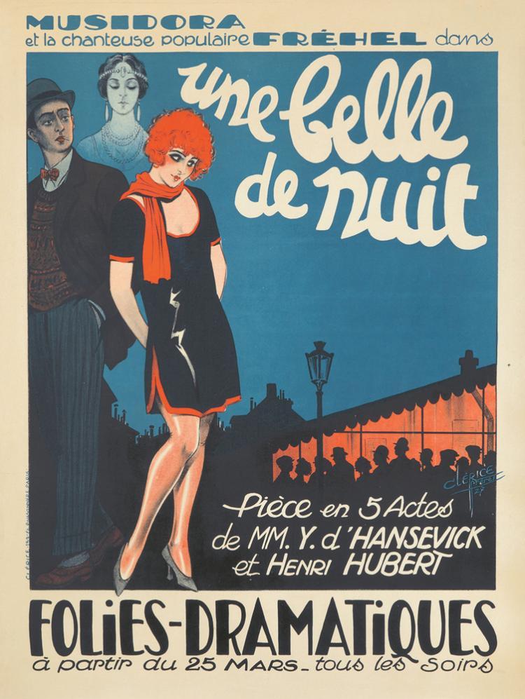 Une Belle de Nuit. 1927