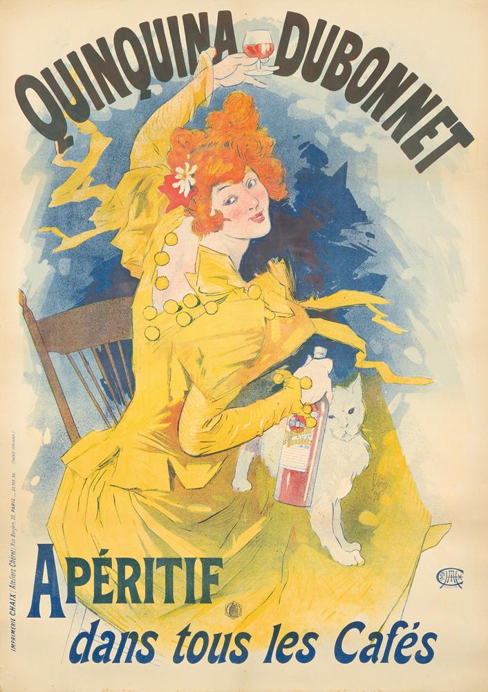 Quinquina Dubonnet. 1896