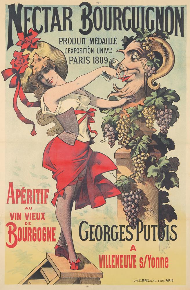 Nectar Bourguignon. 1891