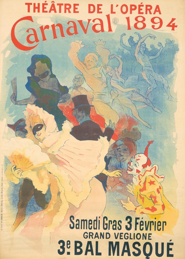 Théâtre de l'Opéra / Carnaval 1894 / 3e Bal Masqué. 1894