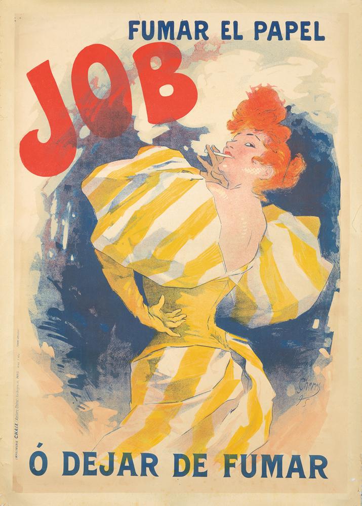 Job / Fumar el Papel. ca. 1895