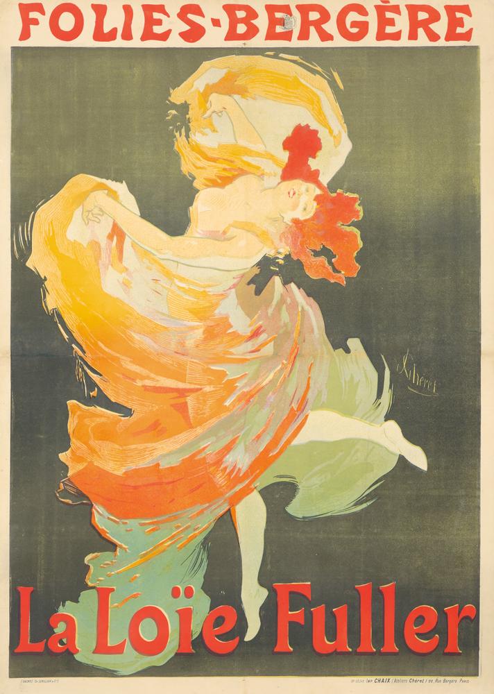 Folies-Bergère / La Loïe Fuller. 1893