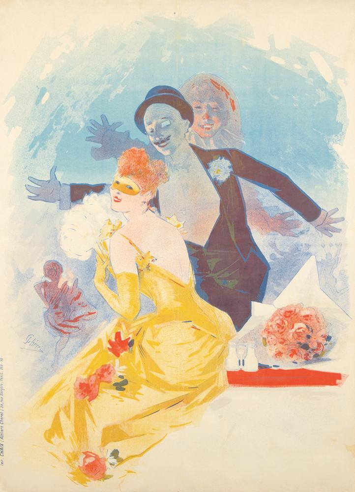 Théâtre de l'Opéra / Carnaval 1892 / 1er Bal Masqué. 1892